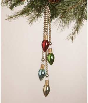 Merry and Bright C7 Dangle Ornament