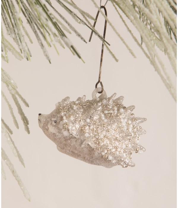 Glass Beaded Hedgehog Ornament