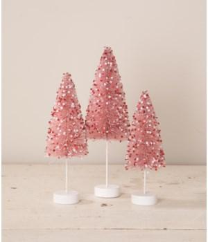 My Silly Valentine Bottle Brush Trees S3