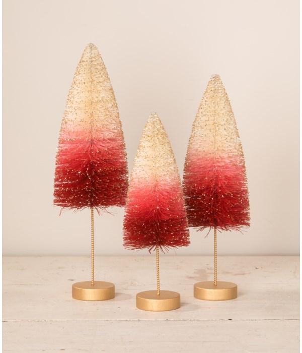 Strawberries and Cream Bottle Brush Trees S3