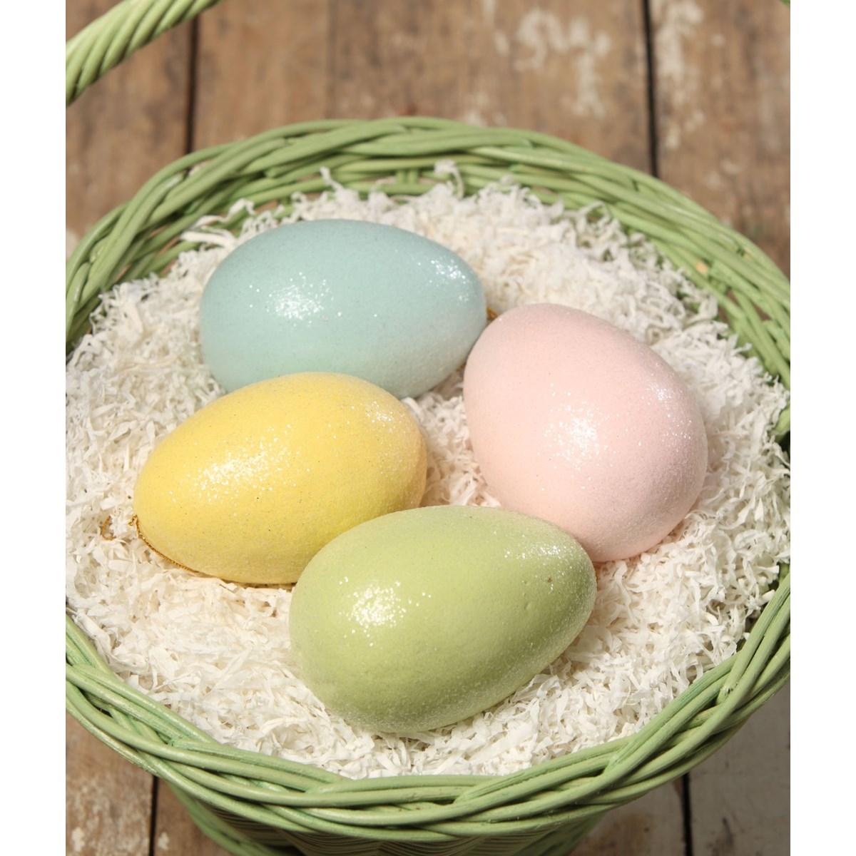 Pastel Egg Ornament Large 4A