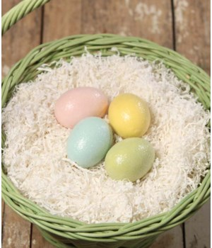 Pastel Egg Ornament Medium 4A