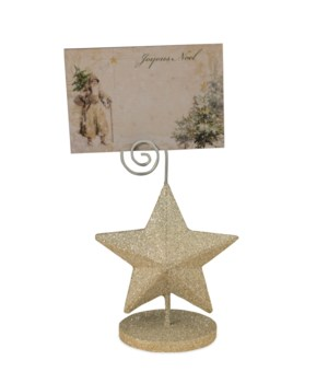 Platinum Star Place Card Holder