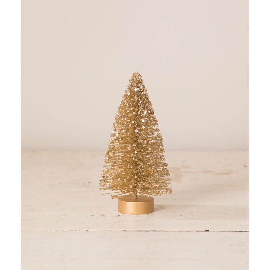 Old Gold Mini Bristle Tree