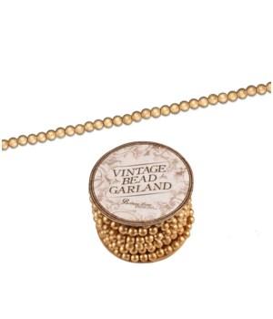 Old Gold Mini Bead Garland