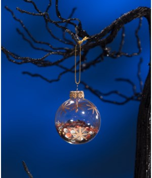Magic Halloween Sequin Ball Ornament