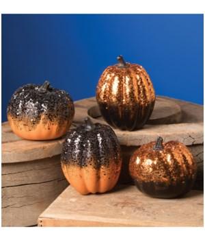 Halloween Glitter Ombre Pumpkin 4/A