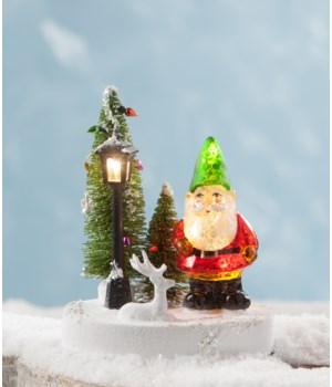 Light Up Gnome Diorama