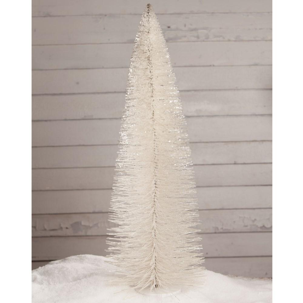 "Winter White Glitter Tree 36"""