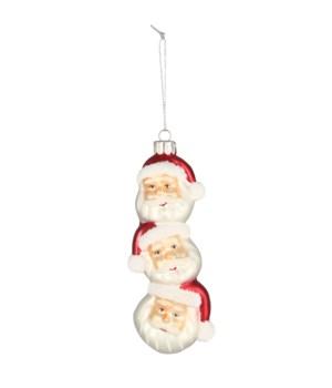 Santa Topiary Ornament