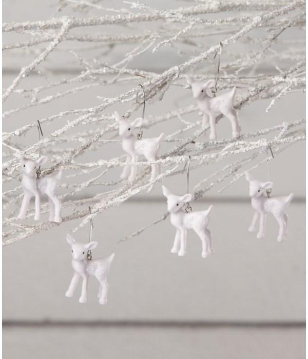 Winter Fawn Mini Ornament S6