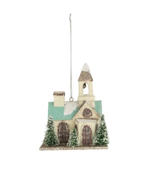 Flea Market Church Ornament
