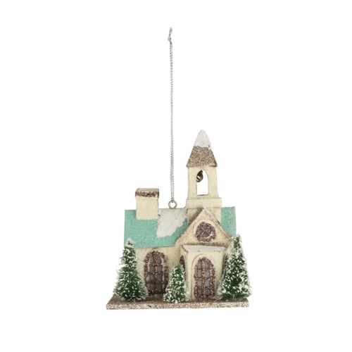Flea Market Church Ornament