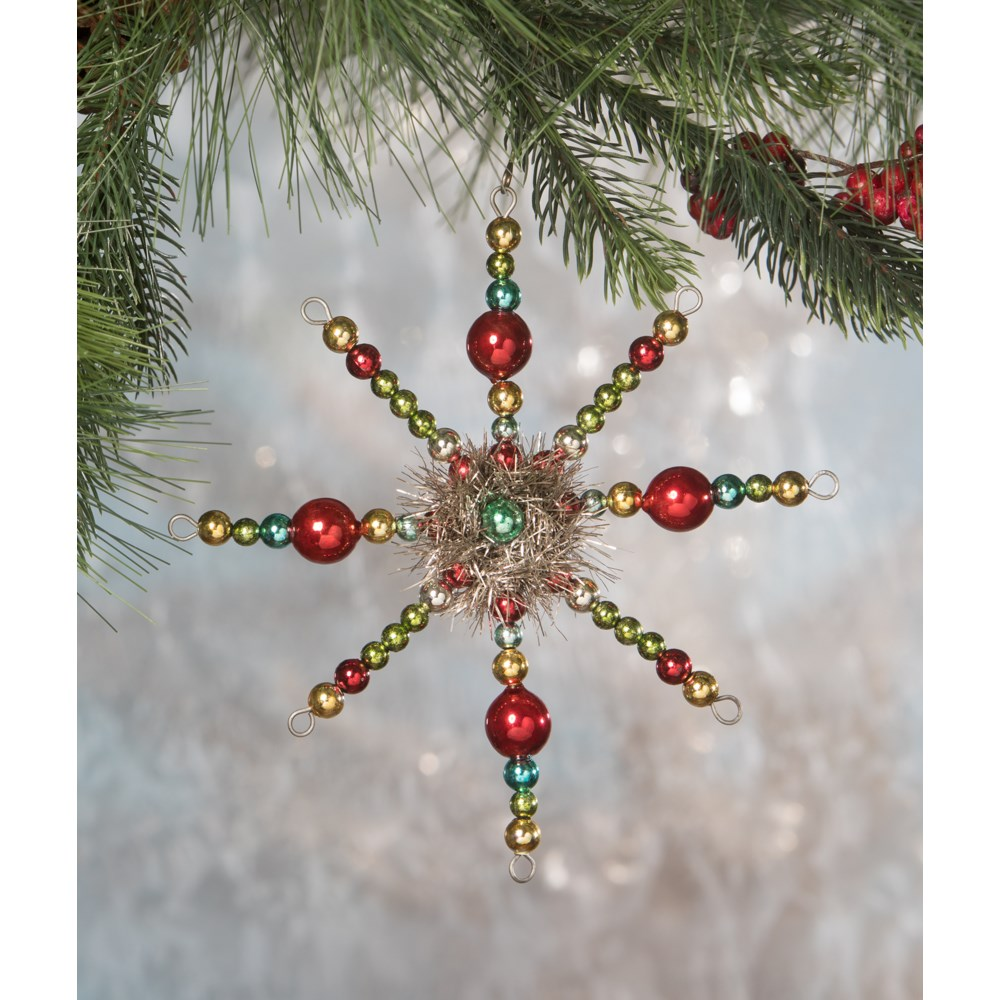 Merry & Bright Starburst Ornament