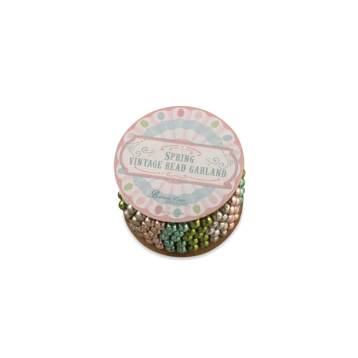 Spring Mini Bead Garland on Spool