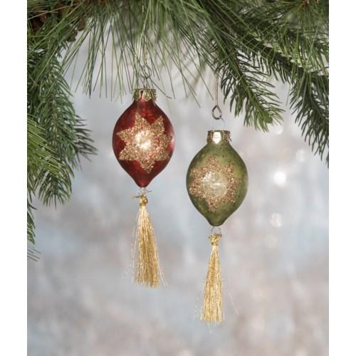 Vintage Mini Tassel Ornament 2A