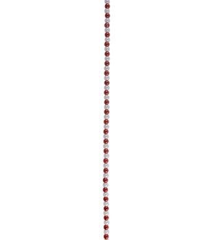 Candy Cane Mini Bead Garland Spool