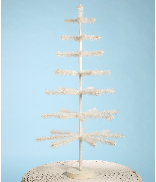 """Feather Tree Ivory 36"""""""