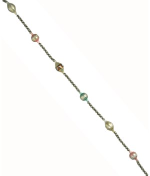 Gorgeous Pastel Glass Garland in Box
