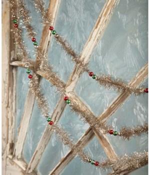 Vintage Traditional Christmas Garland 9'