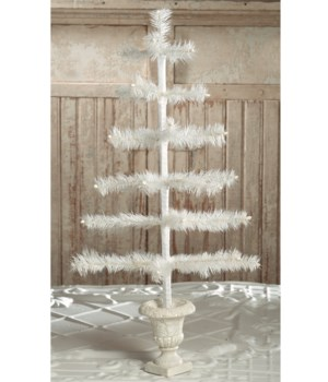 Feather Tree Ivory in Urn Base 26""