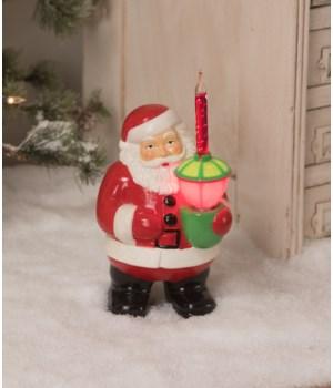 Bubble Light Santa