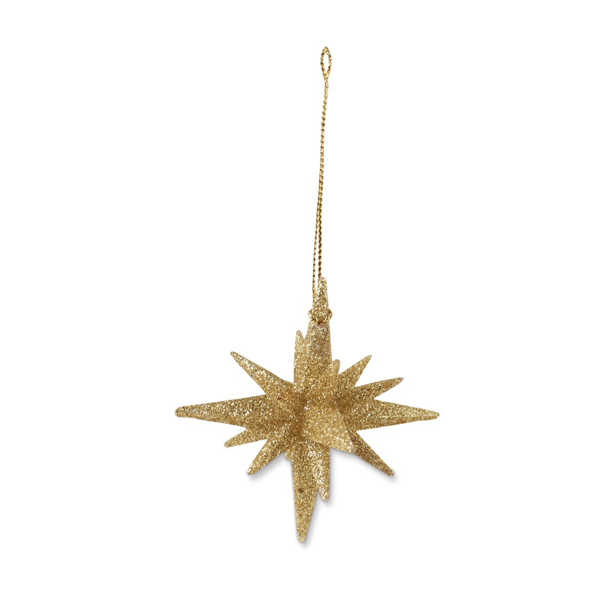 Gold Sparkle Moravian Stars Small S6