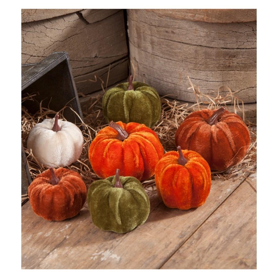 Velveteen Pumpkin In Bag S7