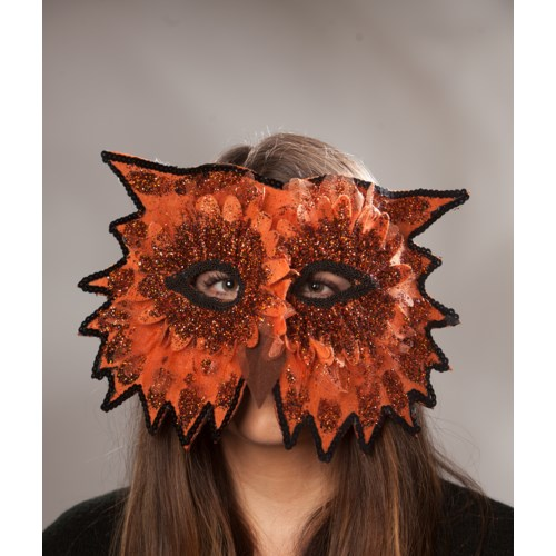 Midnight Owl Mask Orange