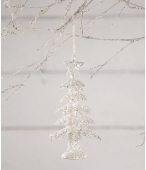 Frosty Tree Ornament