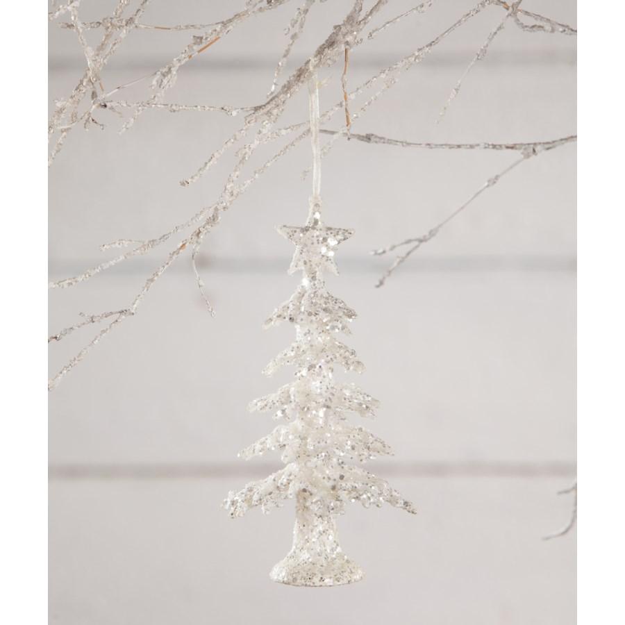 Frosty Tree Ornament