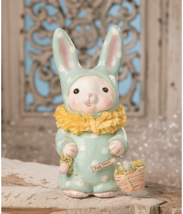 Blue Easter Suit Bunny