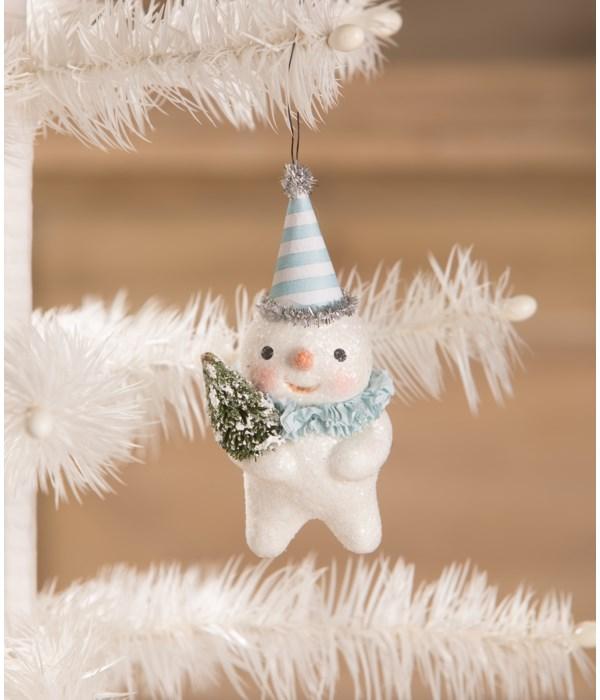 Party Snowman Ornament