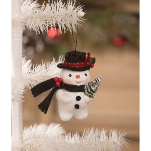 Traditional Snowman Ornament
