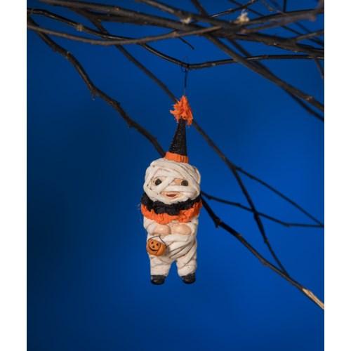 Time to Unwind Mummy Ornament