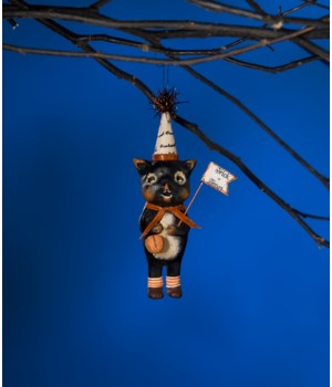 Trick or Treat Kitty Ornament