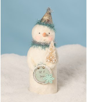 Party Blues Snowman