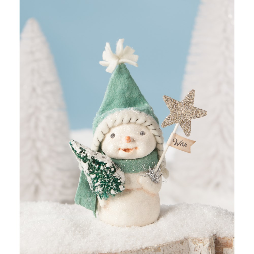 Christmas Wishes Snowman