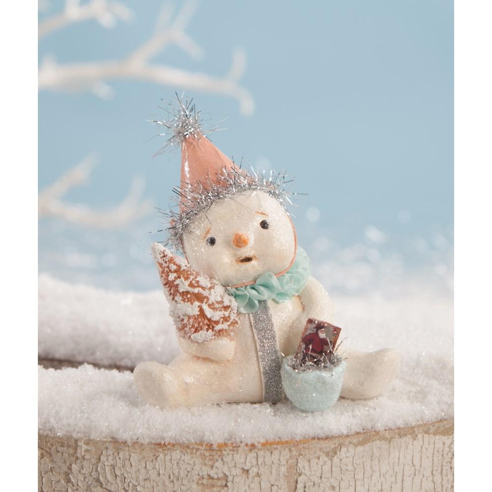 Blushing Snowgirl