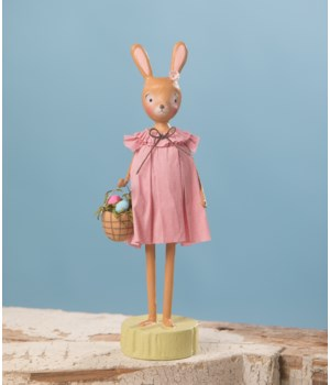 Rosey Bunny With Basket