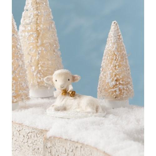 Resting Winter Lamb