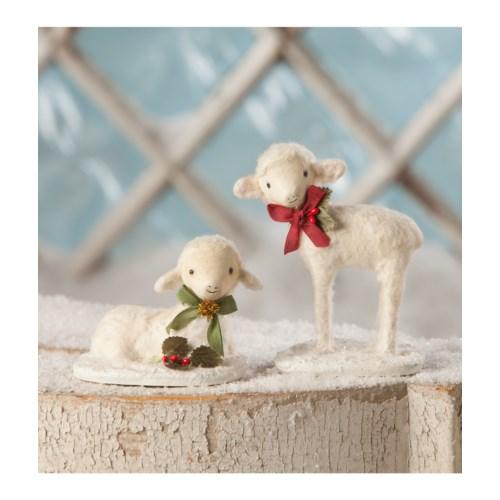 Christmas Lambs 2/A