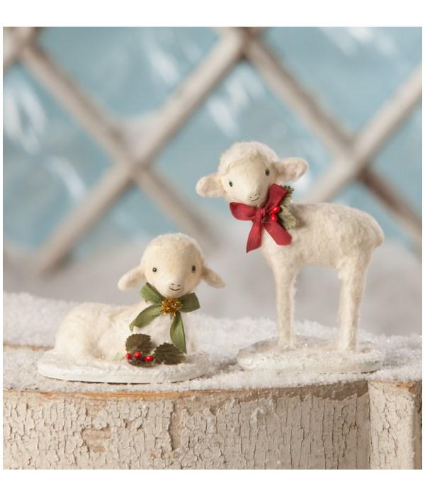 Christmas Lambs 2A