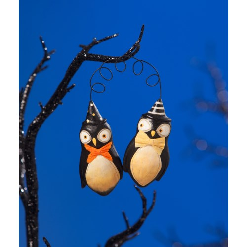 Who's Whoo Ornament