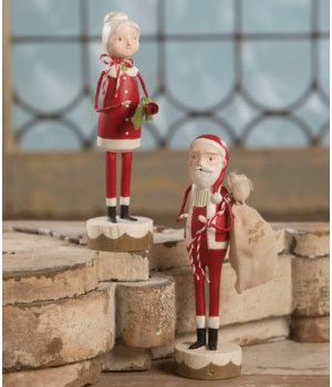 Santa and Mrs Claus 2/A