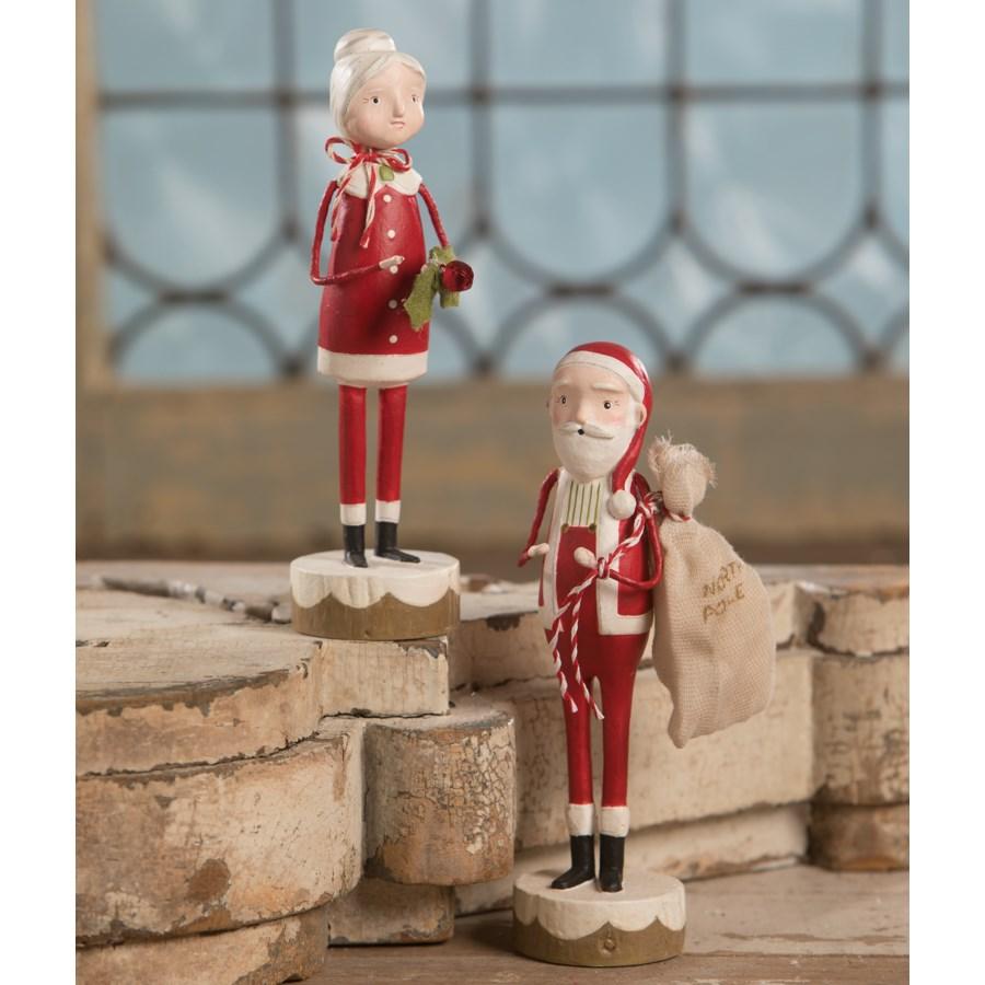 Santa and Mrs Claus 2A