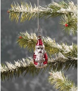 Candle Holder Santa