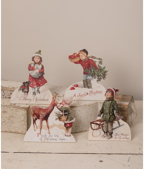 Christmas Children Dummy Board 4A