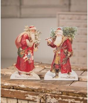 Vintage Santa Dummy Board 2/A