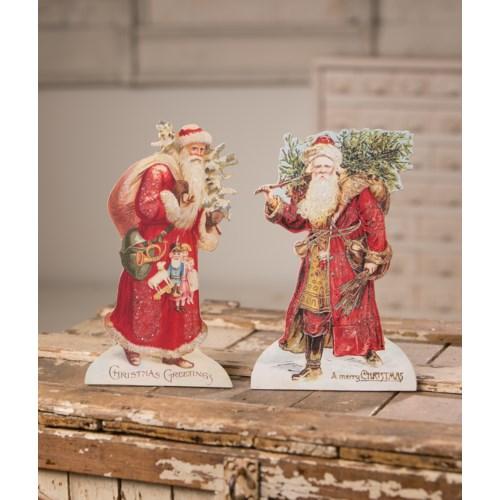 Vintage Santa Dummy Board 2A